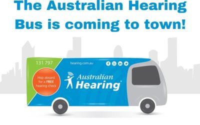 The Australian Hearing Bus Is Coming To Town